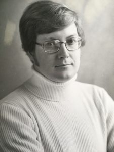 Brien after a successful diet, briefly sporting a turtleneck
