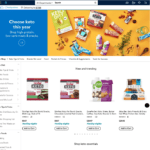 Walmart's Keto Page
